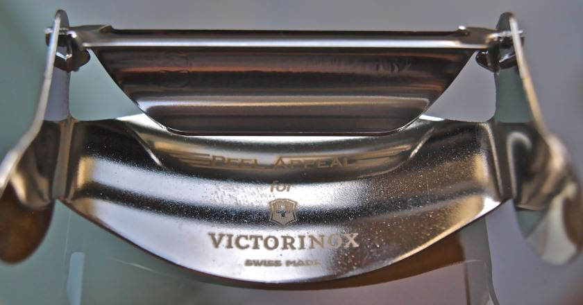 Victorinox Sparschäler, der perkekte Spargelschäler